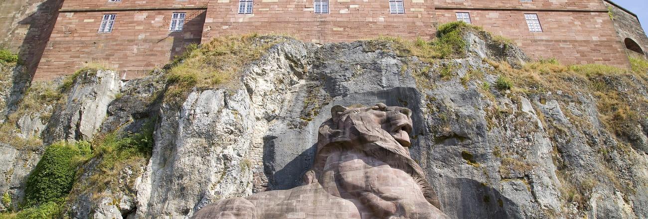 """La Citadelle et le Lion de Belfort, """"monument préféré des Français"""", en images"""
