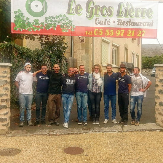 Restaurant : Le Gros Lierre  - entrée -   © yvp