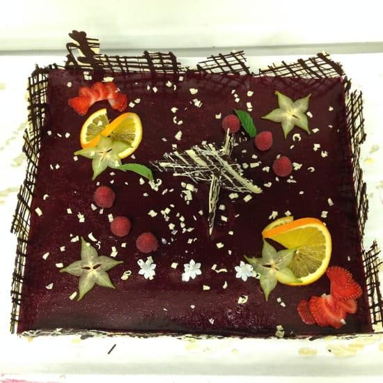 Le Marin restaurant  - gateau d'anniversaire -   © nathalie denel