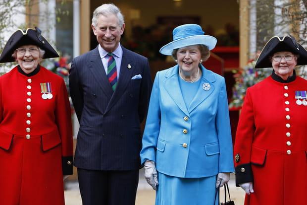 Avec le prince Charles