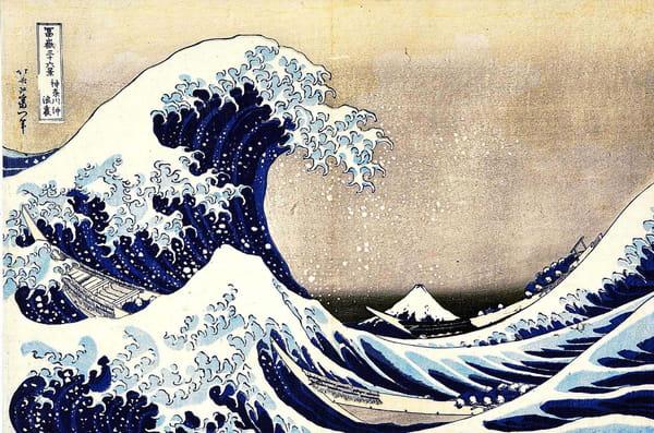 Hokusai - La Grande Vague de Kanagawa