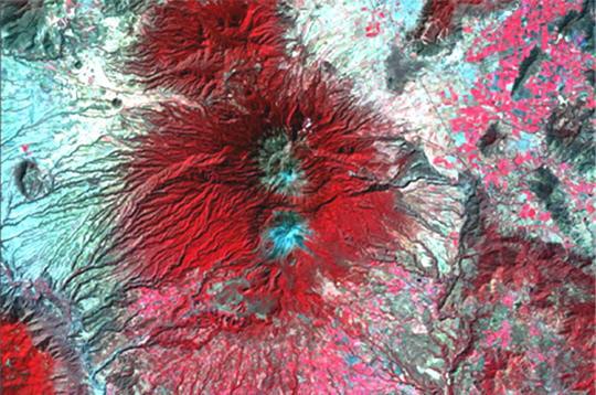 Pics volcaniques