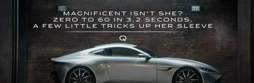 Spectre James Bond : Aston Martin ne vendra qu'une seule DB10 utilisée dans le film