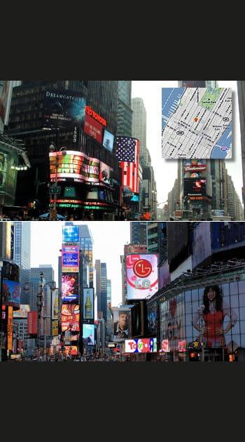 Clé n°6: Times Square