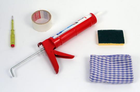 Remplacer un joint en silicone