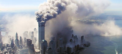 les attentats du world trade center.