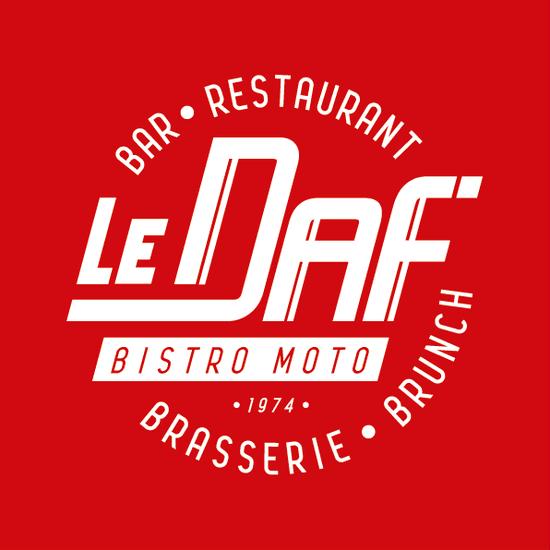 Restaurant : Le Daf'  - Logo Brasserie Le Daf' -   © Brasserie Le Daf'