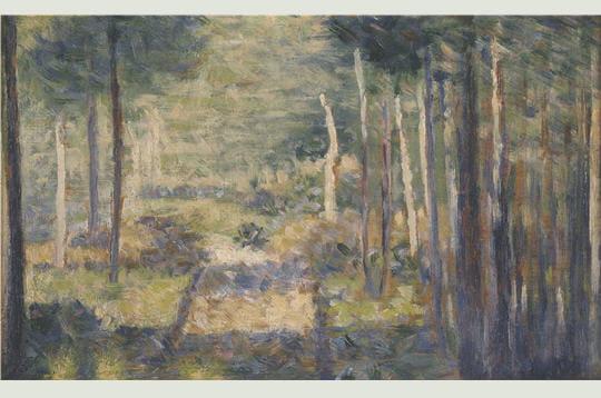 Georges Seurat: Allée en forêt