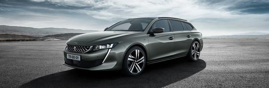 La nouvelle Peugeot 508en images et les photos de la 508SW