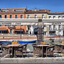 Restaurant : L'Alexandre  - Terrasse et vue sur le canal -   © Philippe G.