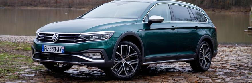 Essai Volkswagen Passat SW Alltrack: mieux qu'un SUV?