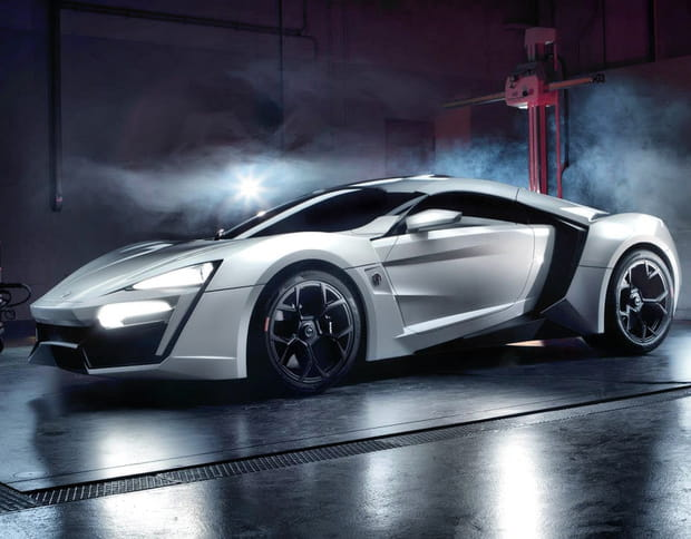 W motors lykan hypersport 395 km h for H and r auto motors