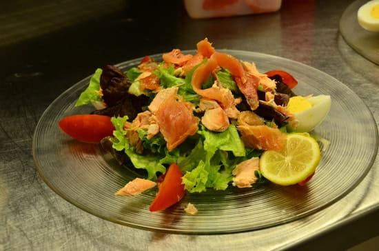 Crêperie de la Cathédrale  - La salade Norvégienne -