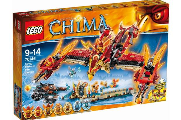 Lego, Legendes of Chima: la brique, c'est du solide