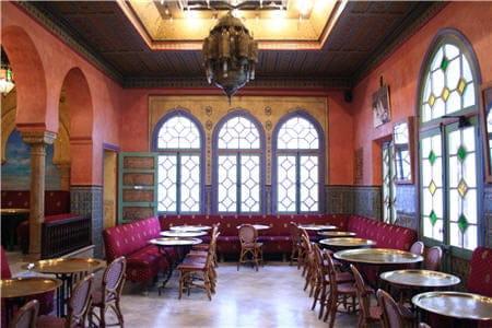 Café Maure de la Mosquée de Paris  - Café Maure de Mosquée de Paris -   © L'Internaute Magazine/Agathe Azzis