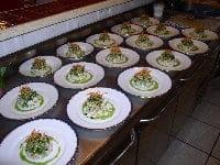Auberge de Bel Air  - chaire de crabe et langoustine en tartare iodé -   © yvéric