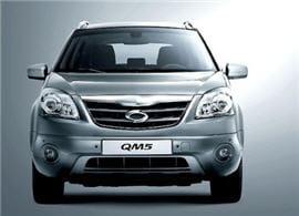 le qm5 est l'alter ego du koleos au sein de la gamme samsung