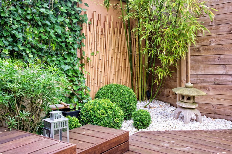 cr er un jardin zen. Black Bedroom Furniture Sets. Home Design Ideas
