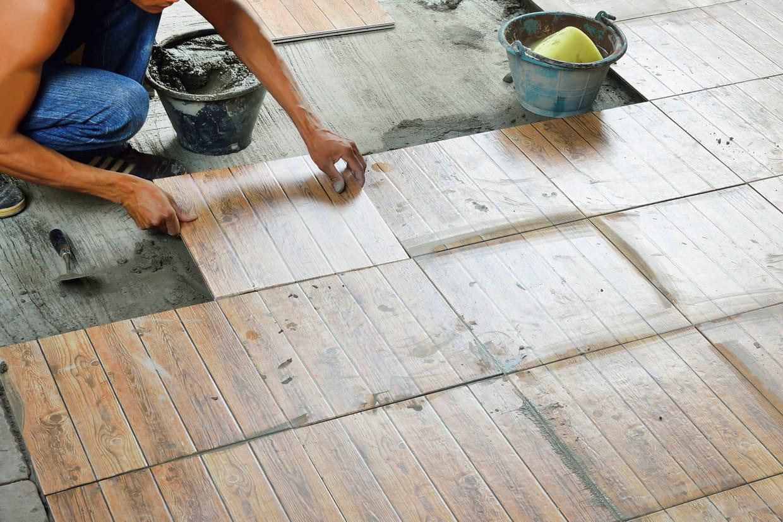 Carrelage nos conseils pour bien le choisir - Revetement de sol sur carrelage ...