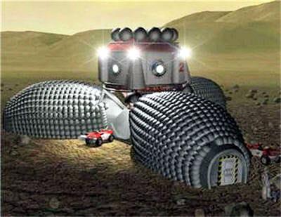 présentation générale de la base martienne habitable, mars direct 1.