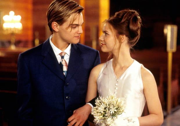 """Leonardo DiCaprio et Claire Danes dans """"Roméo + Juliette"""""""