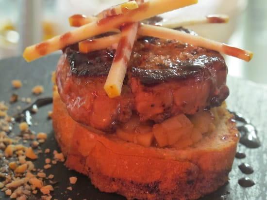 Le Barathym  - Foie gras poêllé -   © Philippe Balleydier