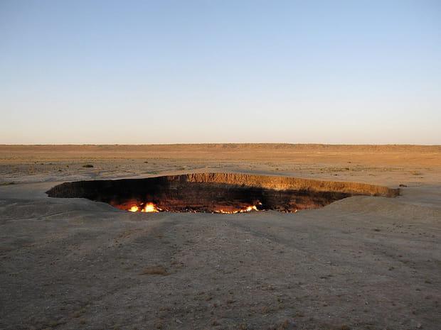 La porte de l enfer derweze - Turkmenistan porte de l enfer ...