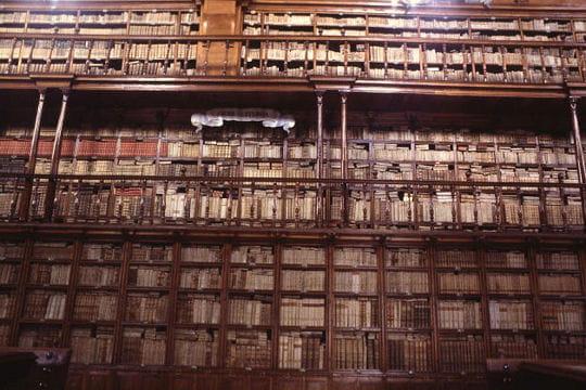 La bibliothèque Palafoxiana au Mexique