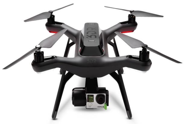 3dr solo le tr s cher drone pour amateur poss dant une gopro. Black Bedroom Furniture Sets. Home Design Ideas