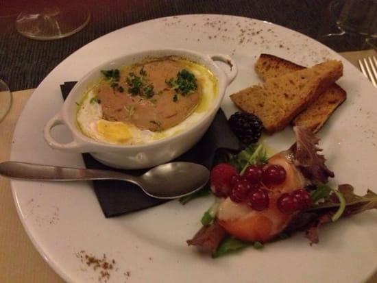 Entrée : La Grande Gamelle  - Œuf cocotte au foie gras -