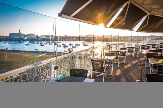 Restaurant : Le QG  - Terrasse panoramique -   © Restaurant le QG