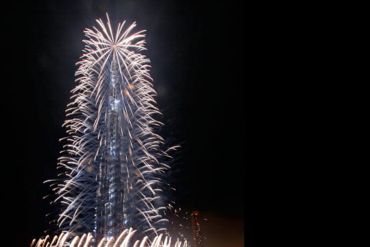 Inauguration de Burj Dubai-Burj Khalifa