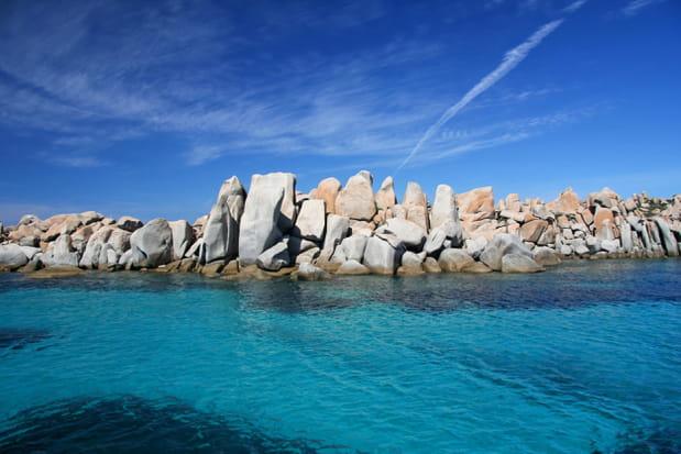 Les îles Lavezzi, Corse