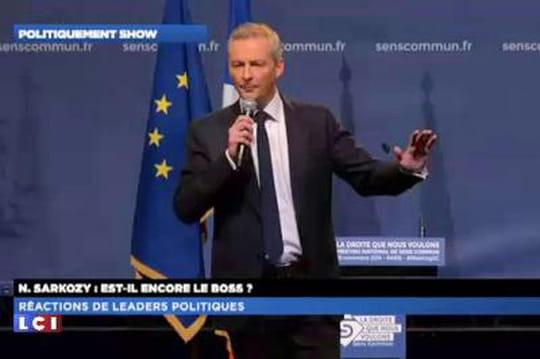 Résultat UMP: Sarkozy président, mais Le Maire fait un coup
