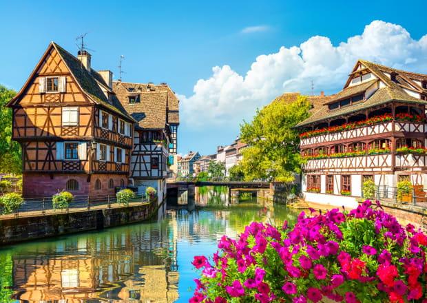 Strasbourg, au fil des canaux de l'Ill