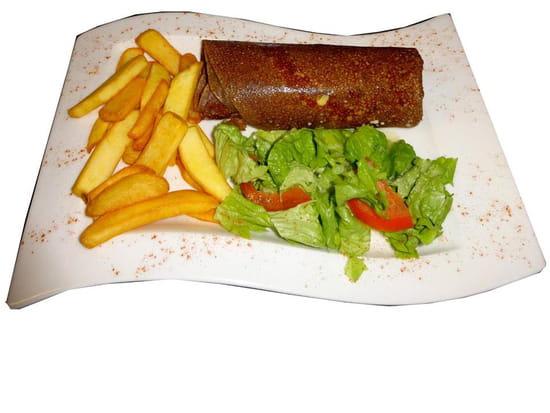 Plat : LE TY SKORN  - Le Ty Skorn crêperie restaurant à Cancale / La Bretonne -   © Le Ty Skorn crêperie restaurant à Cancale
