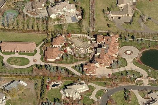 La maison de Carmelo Anthony