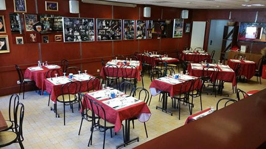 Restaurant : Le Maracana  - la salle -   © moi