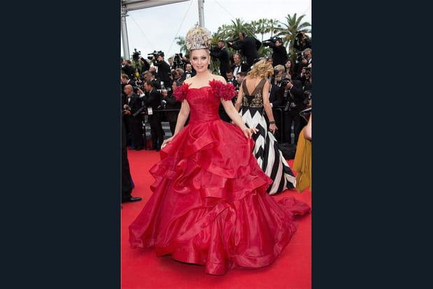 Elena Lenina en mode princesse