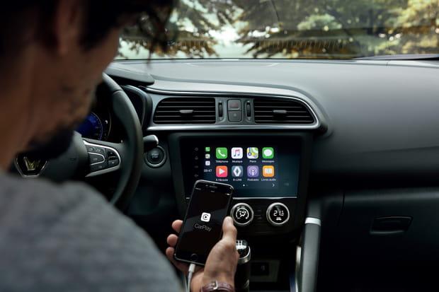 CarPlay et Android Auto disponibles