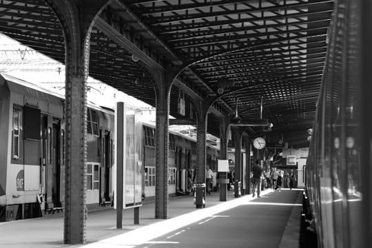 La gare de l 39 est for Exterieur quai gare de l est