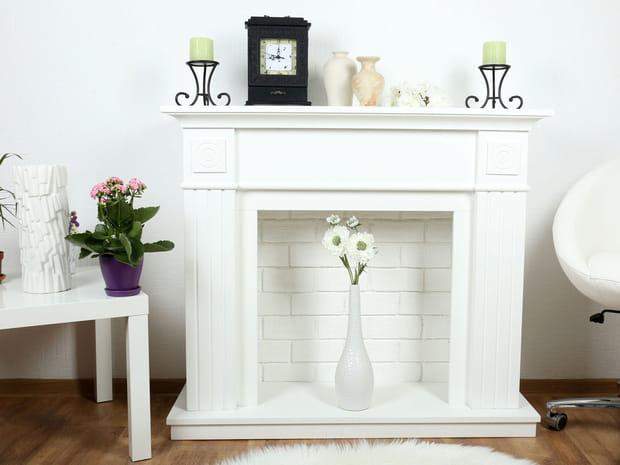 10façons simples de donner du style à sa cheminée