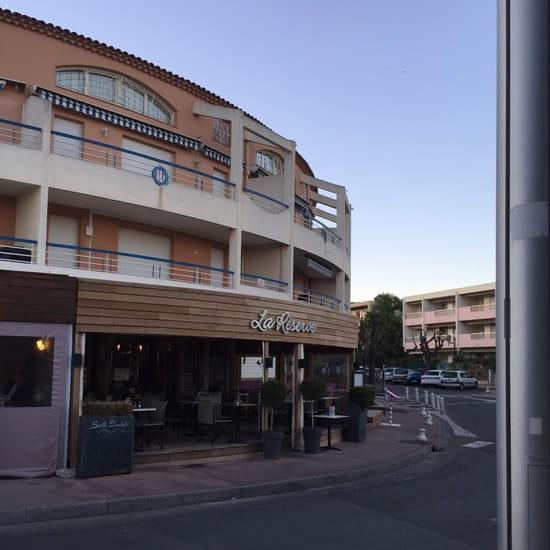 Restaurant : La Réserve  - Carqueiranne, le Port -