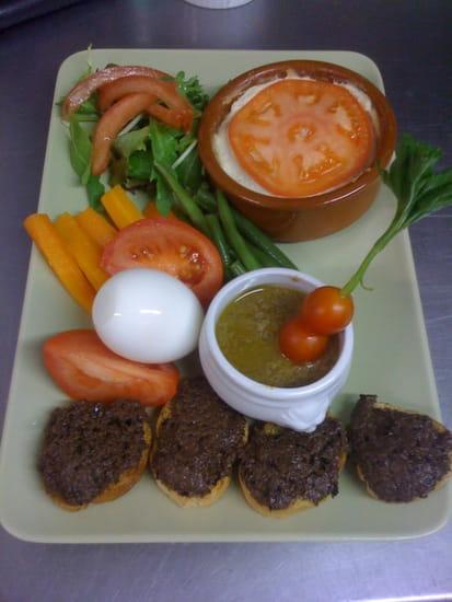 La Crémaillère  - assiette provencale -   © cm