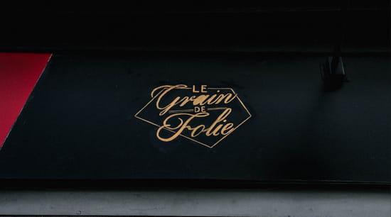Restaurant : Le Grain de Folie Montmartre  - Logo -   © GDF Montmartre