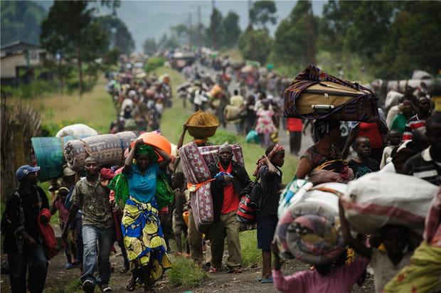 Des milliers de Congolais fuient les combats