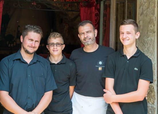 Restaurant : La Forge  - L'équipe de la Forge -   © La Forge