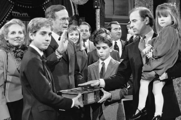 La famille recomposée de Joe Biden en images