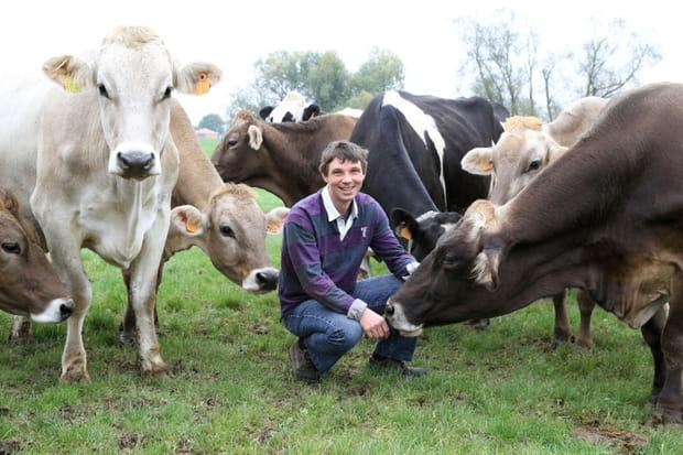 Cyrille : éleveur de vaches