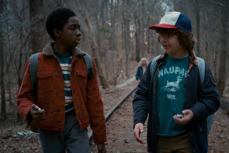 Lucas et Dustin Stranger Things   La Boutique Stranger Things